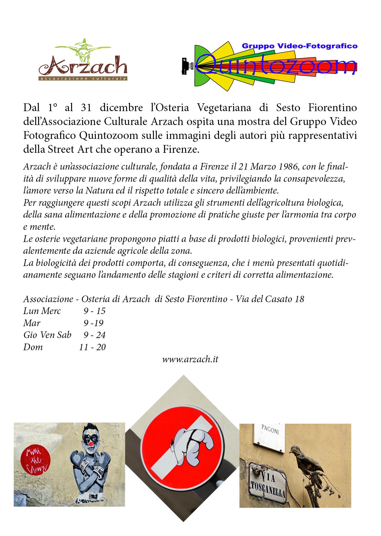 Arzach - Mostra: Street Art a Firenze