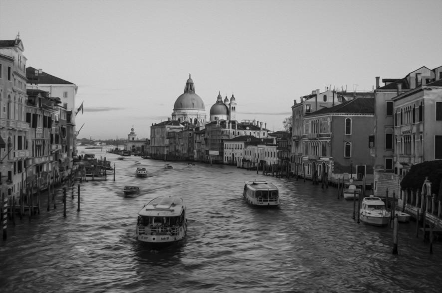 Dipinto a olio (effetto) - Venezia, VE