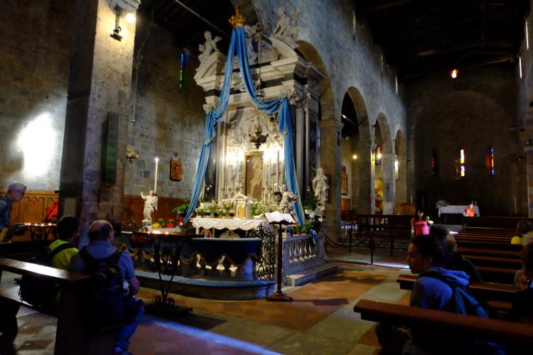 Da Pietrasanta a Monte Magno per la via Francigena Badia di Camaiore