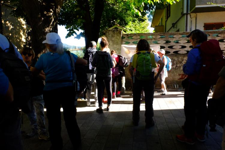Da Pietrasanta a Monte Magno per la via Francigena Rifornimento